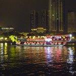 River Boats at Night