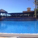 Pool and reataurant