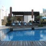 piscine de l'hôtel
