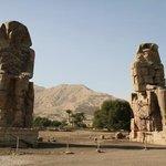 Memnon colosses