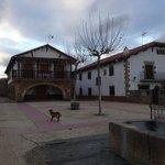 The main square in Almarza