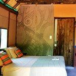 Inside our Safari Tent