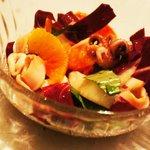 Our deliciously fresh Calamari Salad