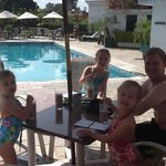 Milkshakes poolside bar