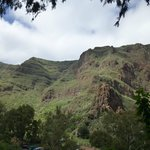 Otra foto de las montañas que forman el barranco