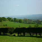 Views from the rooms reach far across Teesdale
