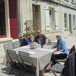 A business lunch in elegant surroundings Puy a Vins