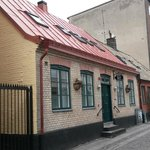 Hotel Oskar set fra gaden