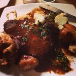 Sunday roast beef! The best I've ever had.