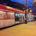 trams in sultanahmet
