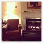 My room at the main lodge.