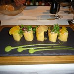 Starter - Dungeness Crab Roll in Egg Crepe