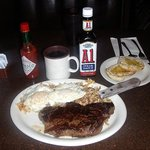 Did me good on the steak and eggs today