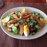 Salade caesar au poulet!!