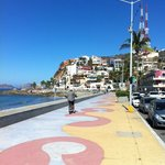Love the Malecon sidewalks in Olas Altas