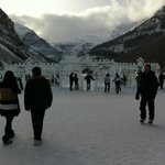 Ice Castles On Lake Louise Canada