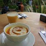 La sopa de calabaza y canela