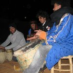Drums at the desert camp