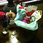 Babymoon gift basket upon our arrival!  Too sweet!