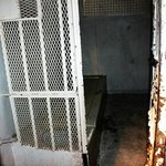 An old intact isolation cell