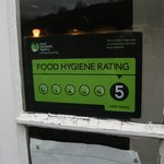 Food Standards Agency Rating 5 Very Good.