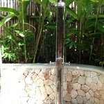 completely private outdoor shower