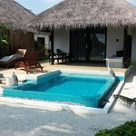 The room with plunge pool