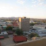 Windhoek vue depuis le Kalahari