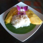 sweet mango + sticky rice