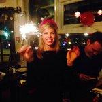 Birthday cake sparklers!