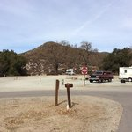 Campground RV sites.  some have shade and some do not.