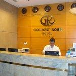 Accueil de l'Hôtel GOLDEN ROSE