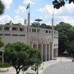 O Museu do Futebol, fica dentro do estádio do Pacaembu e o acesso é muito fácil!