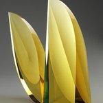 Glass art piece by Martin Rosol