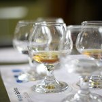 Our Wigle Whiskey sampler...