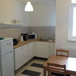 Fully stocked kitchen (dishes, cookware, utensils)
