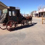 The main street in Tombstone