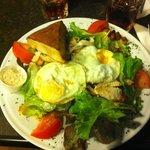 Salade Cesar Eggs Chicken