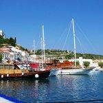 Pythagorion harbor