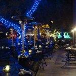 Back patio, Blue Adobe Grill, Scottsdale, AZ