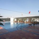 Lovely clean pool area