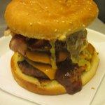 Bad Boy Burgers Served - Yummy :)
