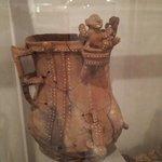 En el museo arqueológico