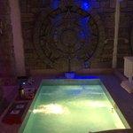 piscina della suite pietra del sol