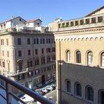 Vistas desde el balcón quinta planta