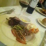 Filet and Lobster Tail
