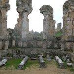 Hier badeten die alten Römer