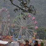 Riesenrad beim Straßenfest