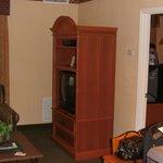 Tv and storage area