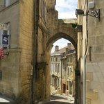 within the city of Saint Emilion, France